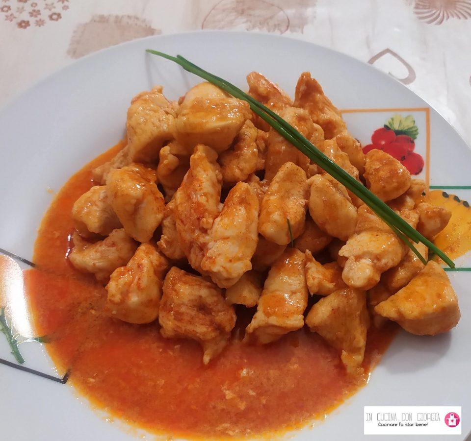 Bocconcini di pollo alla paprika