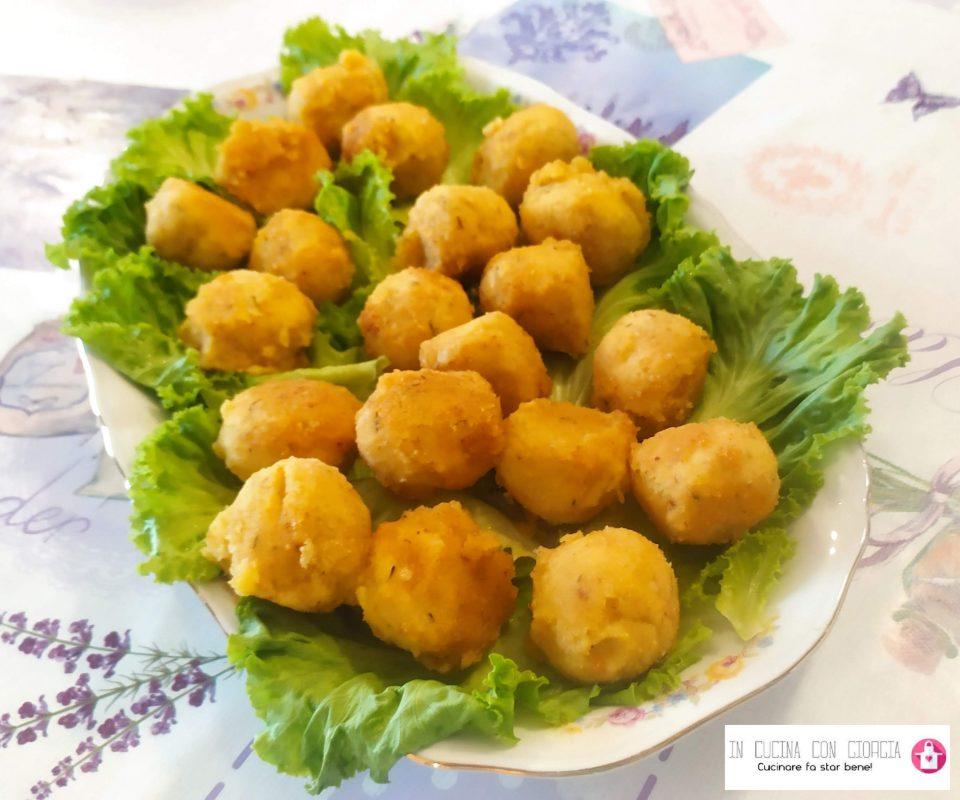 Polpette di ceci e patate