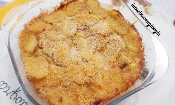 Tortino di patate prosciutto e formaggio