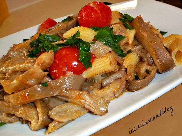 Ricette di pasta con funghi pleurotus