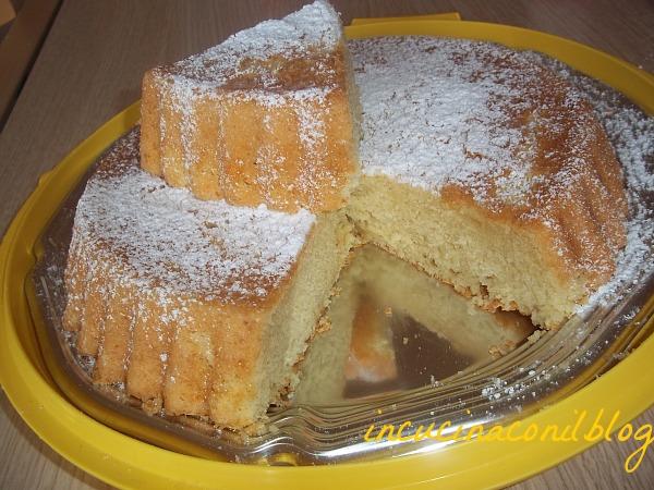 Whipped cream cake la torta con la panna montata nell 39 impasto in cucina con il blog - Differenza panna da cucina e panna fresca ...
