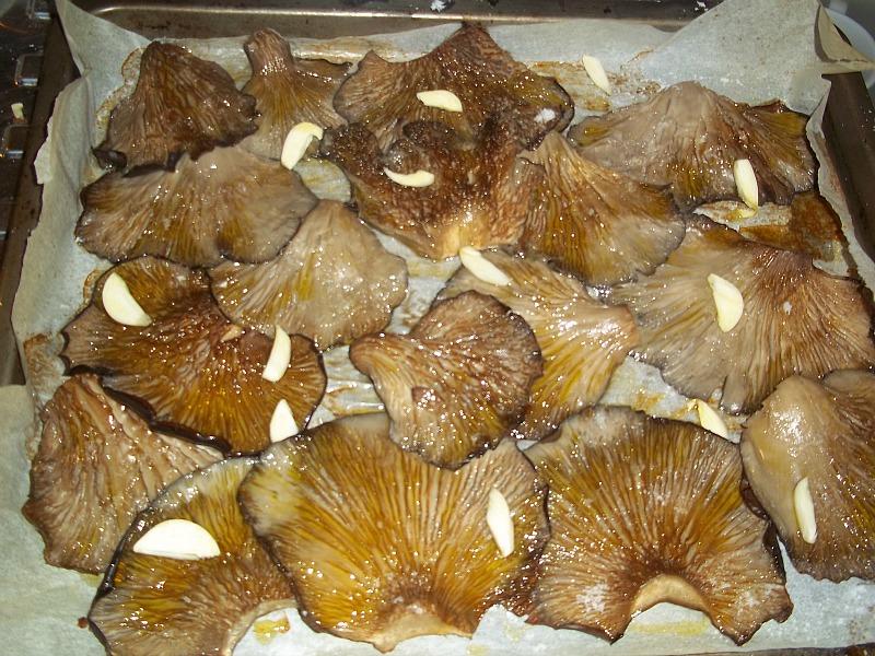 funghi al forno 2