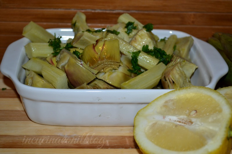 Carciofi bolliti in cucina con il blog for Carciofi ricette