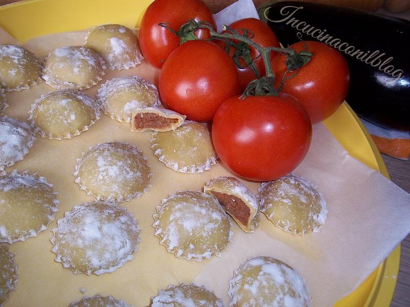 ravioli di melanzane 2