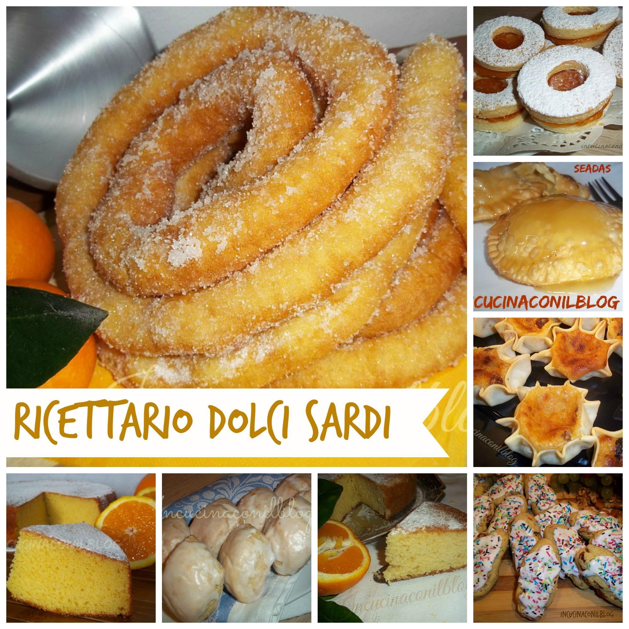 Ricottelle dolci sardi in cucina con il blog for Ricette dolci sardi