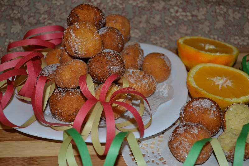 Frittelle Di Ricotta Arrubiolus In Cucina Con Il Blog
