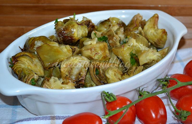 CARCIOFI AL FORNO | In Cucina Con il Blog