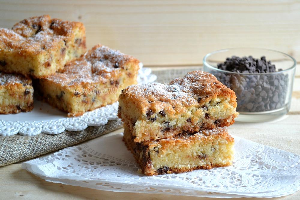 Tortine Al Cocco Con Gocce Di Cioccolato In Cucina Con Il Blog