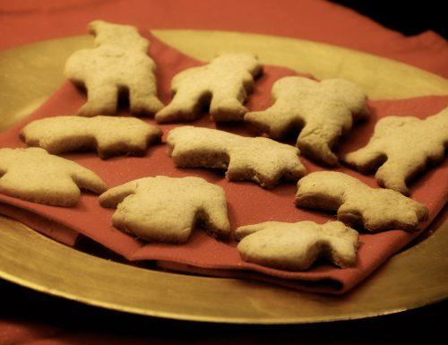Biscotti di Natale alle spezie, ricetta senza burro