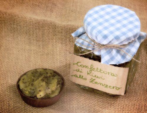 Confettura di kiwi al profumo di zenzero, ricetta senza zucchero (o quasi)