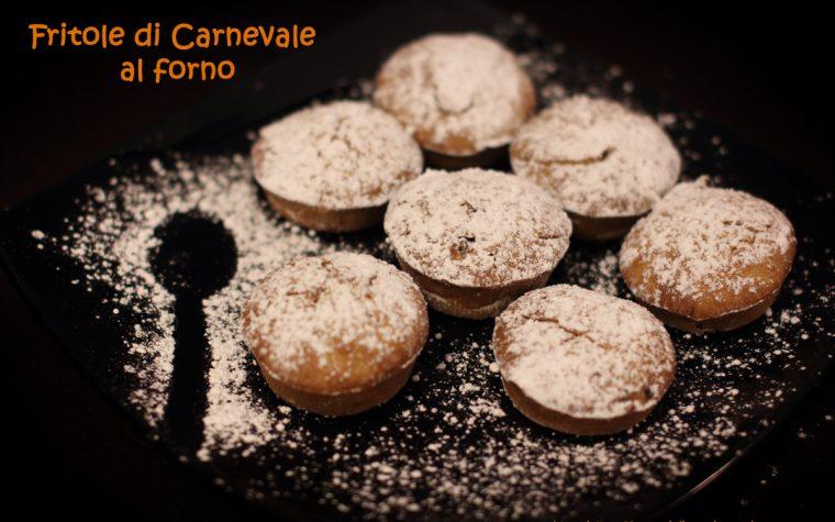 Fritole bio e leggere al forno, ricetta di Carnevale