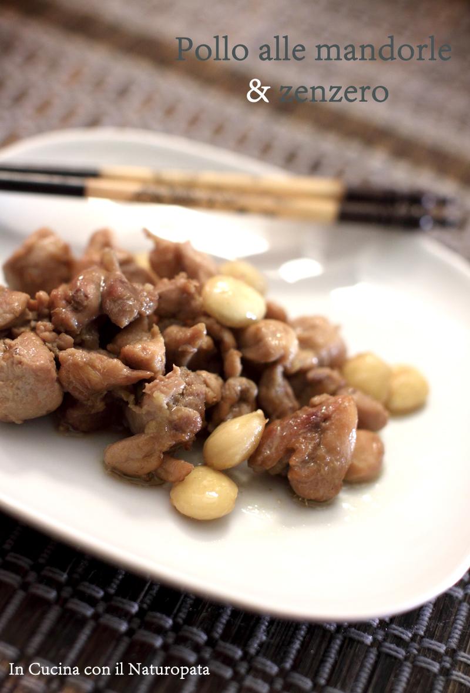 Pollo alle mandorle e zenzero e una cena cinese for Cena cinese
