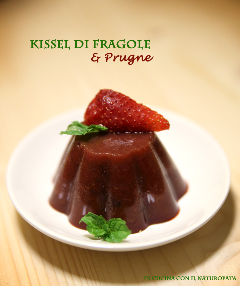 Kissel di fragole