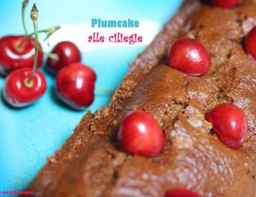 Plumcake alle ciliegie con yogurt e farro, ricetta senza burro