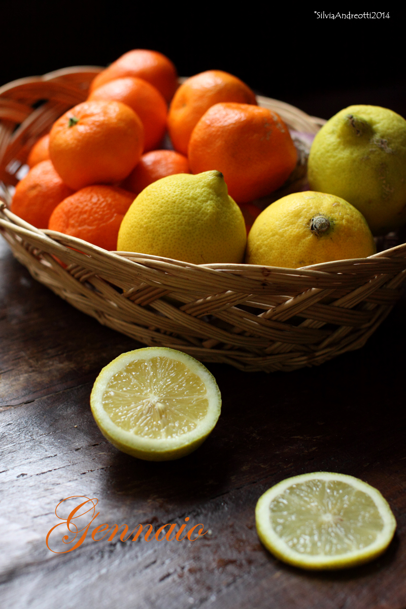 gennaio, frutta e verdura di stagione