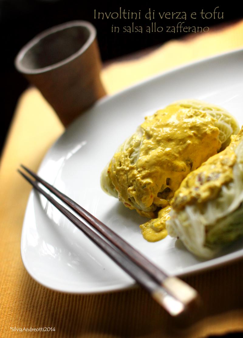 Involtini di verza e tofu