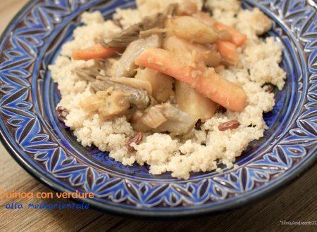 Quinoa con verdure alla mediorientale, ricetta gluten-free