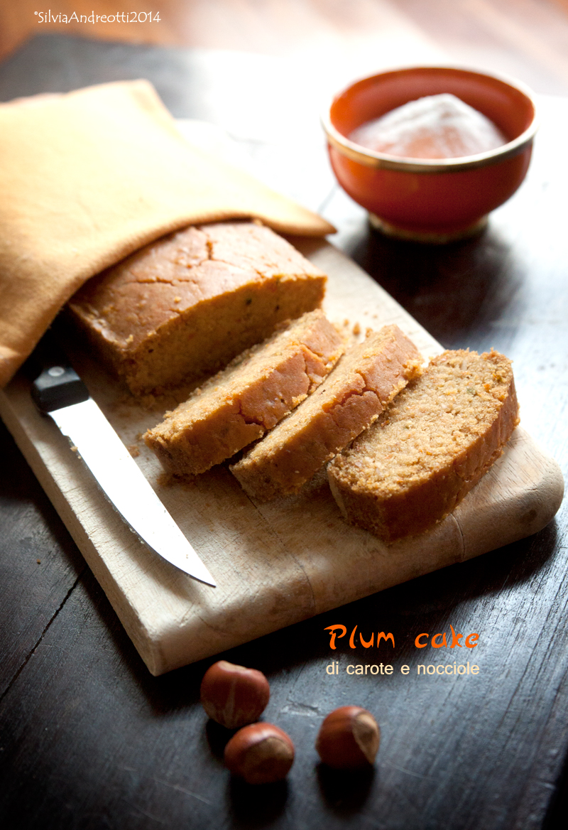 Plum cake di carote