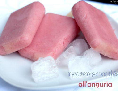 Frozen smoothies all'anguria, prove generali per la merenda ideale