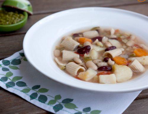 Soupe au pistou, zuppa provenzale di verdure al pistou