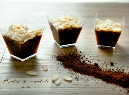 Budini di mandorle al caffè, dessert finger food (vegan)