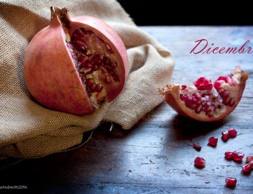 Dicembre frutta e verdura di stagione