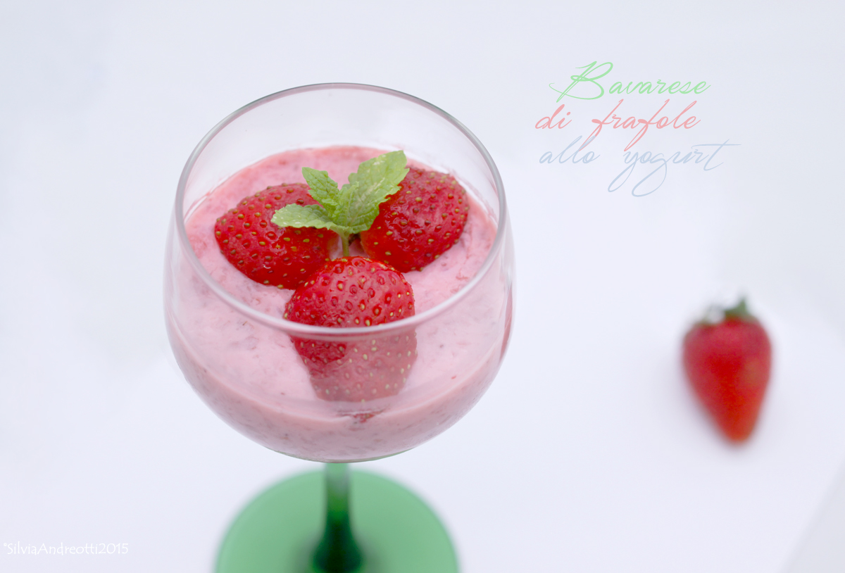 bavarese di fragole