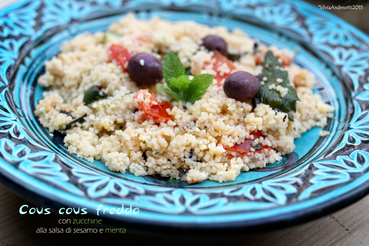 cous cous freddo vegetariano