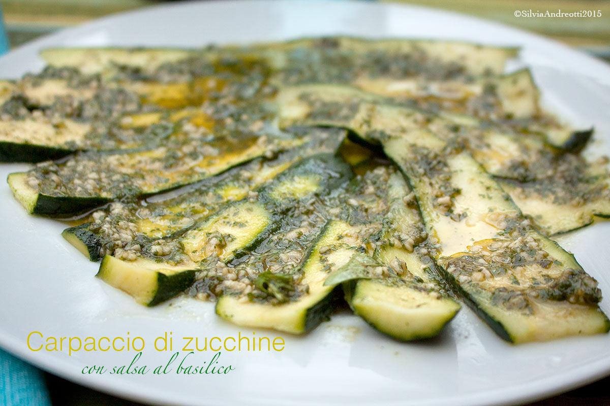 carpaccio di zucchine 2