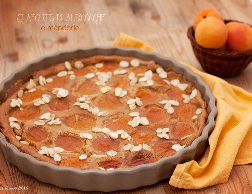 Clafoutis di albicocche e mandorle al profumo di vaniglia, #glutenfree e senza lattosio