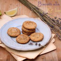 Biscotti vegan alla lavanda