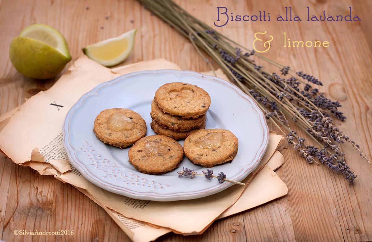 Biscotti integrali alla lavanda e limone #vegan