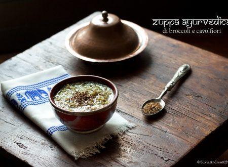 Zuppa ayurvedica di broccoli e cavolfiori, ricetta detox