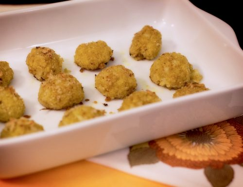 Crocchette mignon di miglio e cavolfiori all'aroma di curry