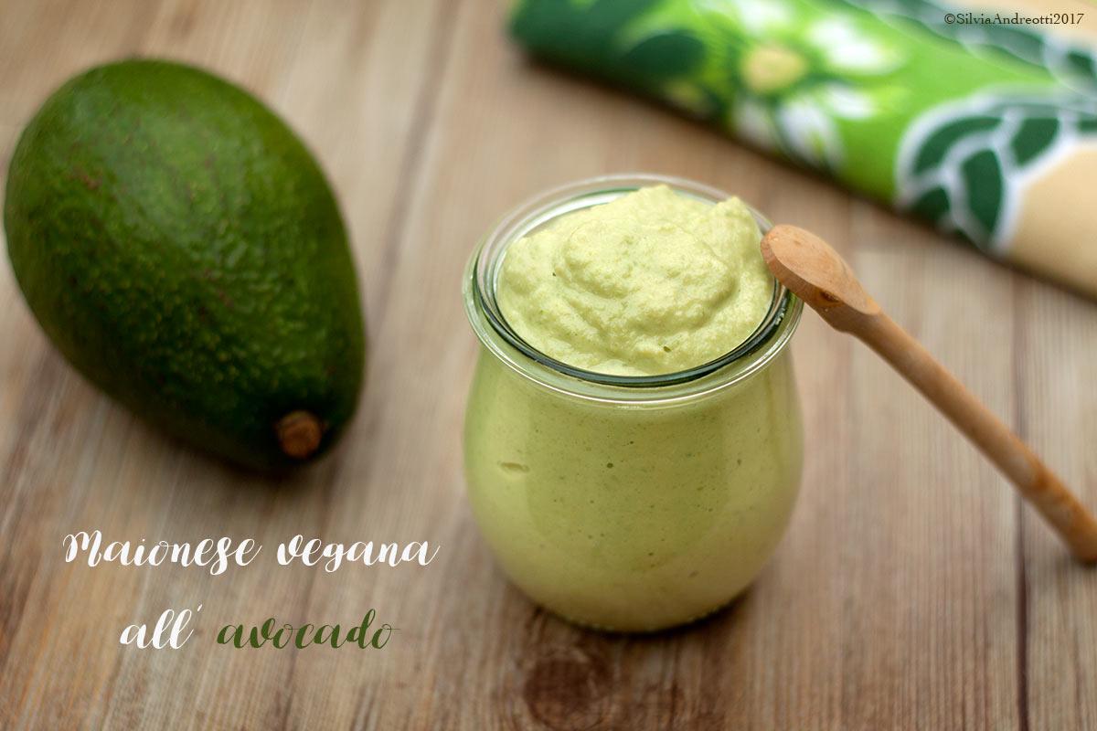 maionese vegana all'avocado