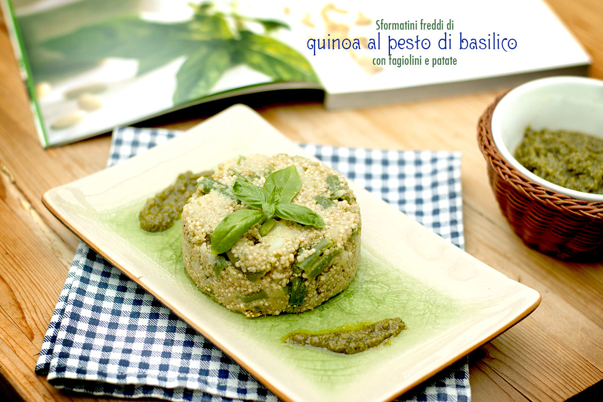 quinoa al pesto