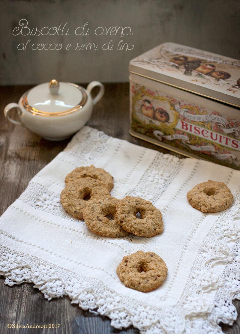 Biscotti di avena vegan