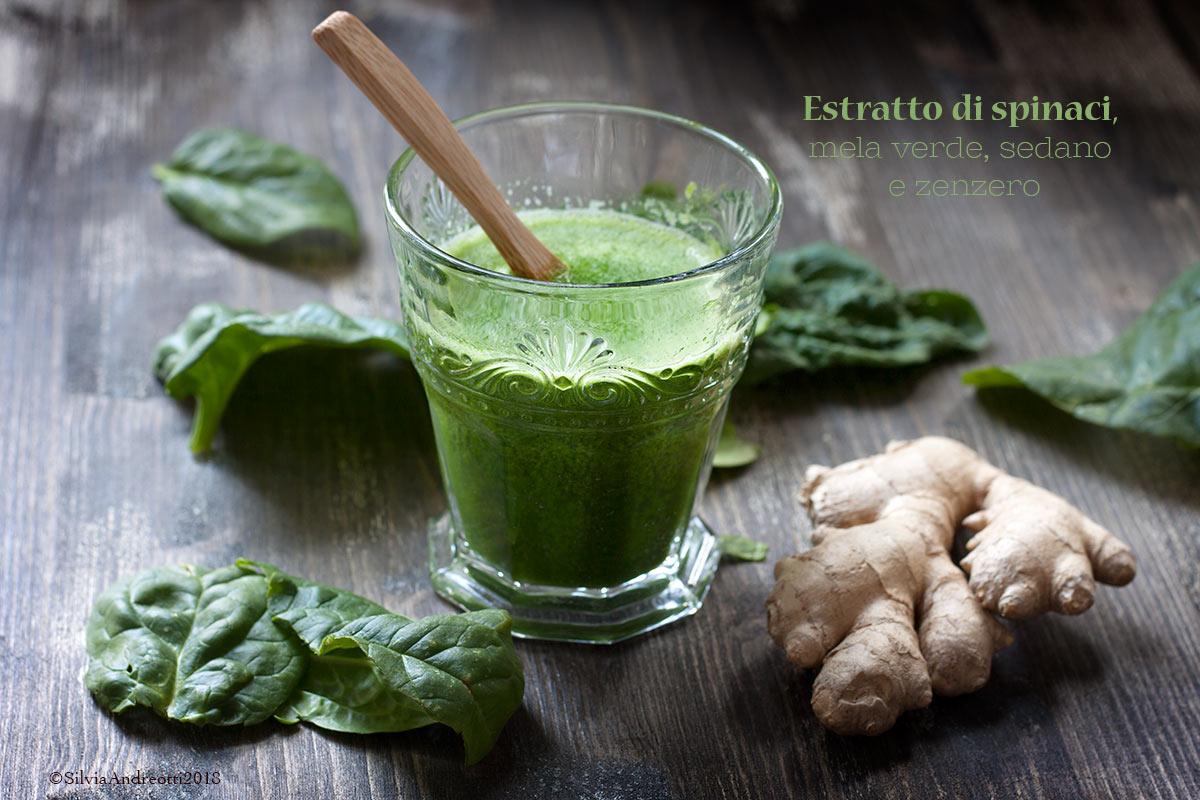 estratto di spinaci