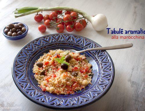 Tabulé aromatico alla marocchina #vegan #senzalattosio