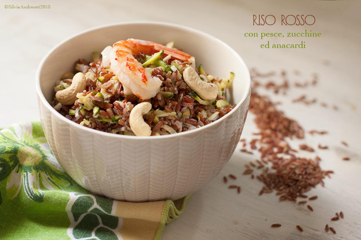 riso rosso insalata