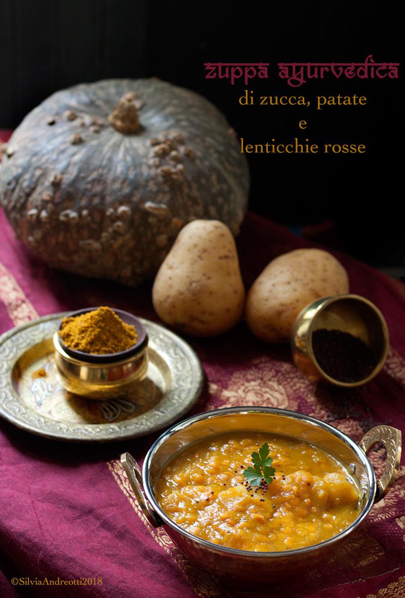 Zuppa ayurvedica di zucca