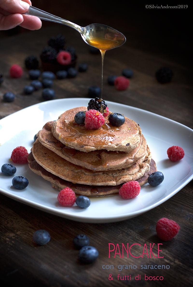 Pancake con grano saraceno