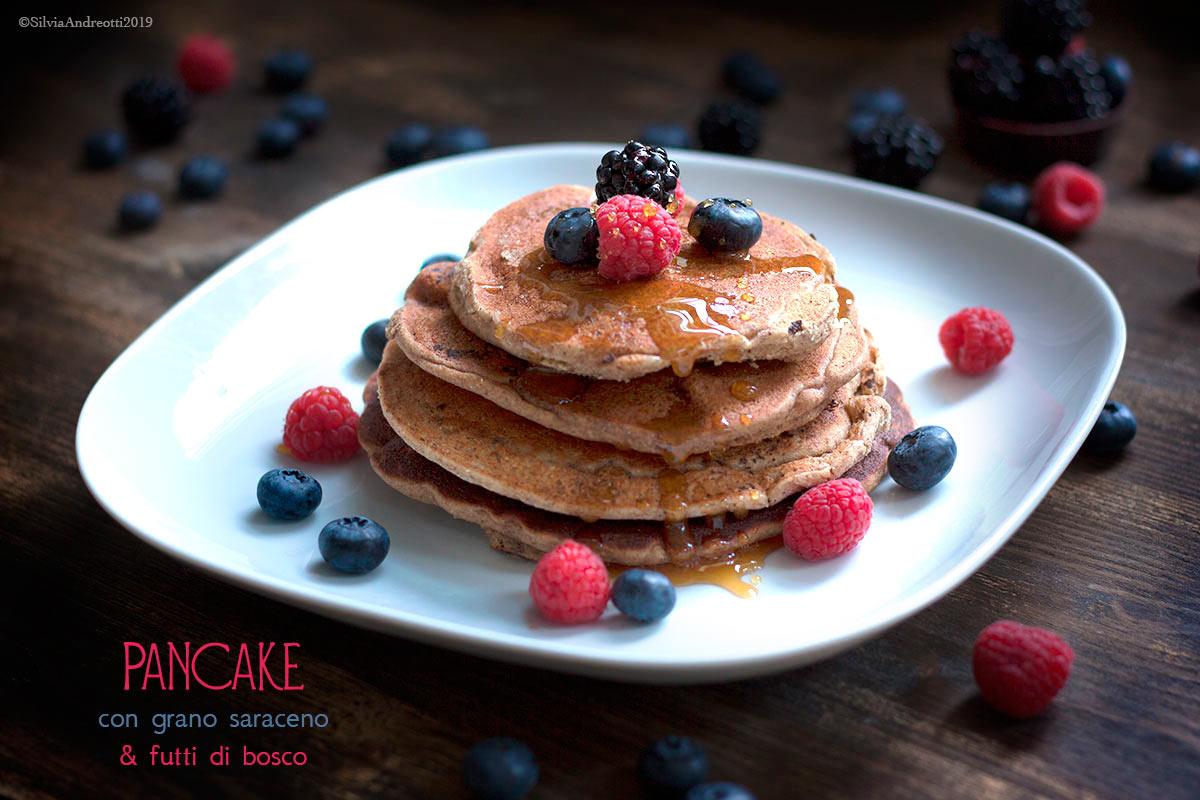 Pancake di grano saraceno glutenfree