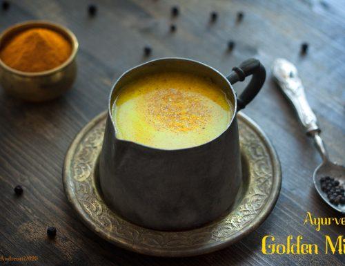 Golden milk ayurvedico, la ricetta originale ayurvedica del latte d'oro