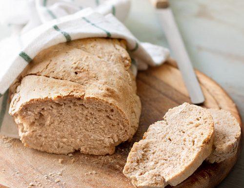 Pane a lievitazione lenta e naturale con farine integrali e solo 2 grammi di lievito