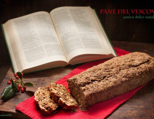 Pane del Vescovo con farina di farro integrale, ricetta natalizia tradizionale