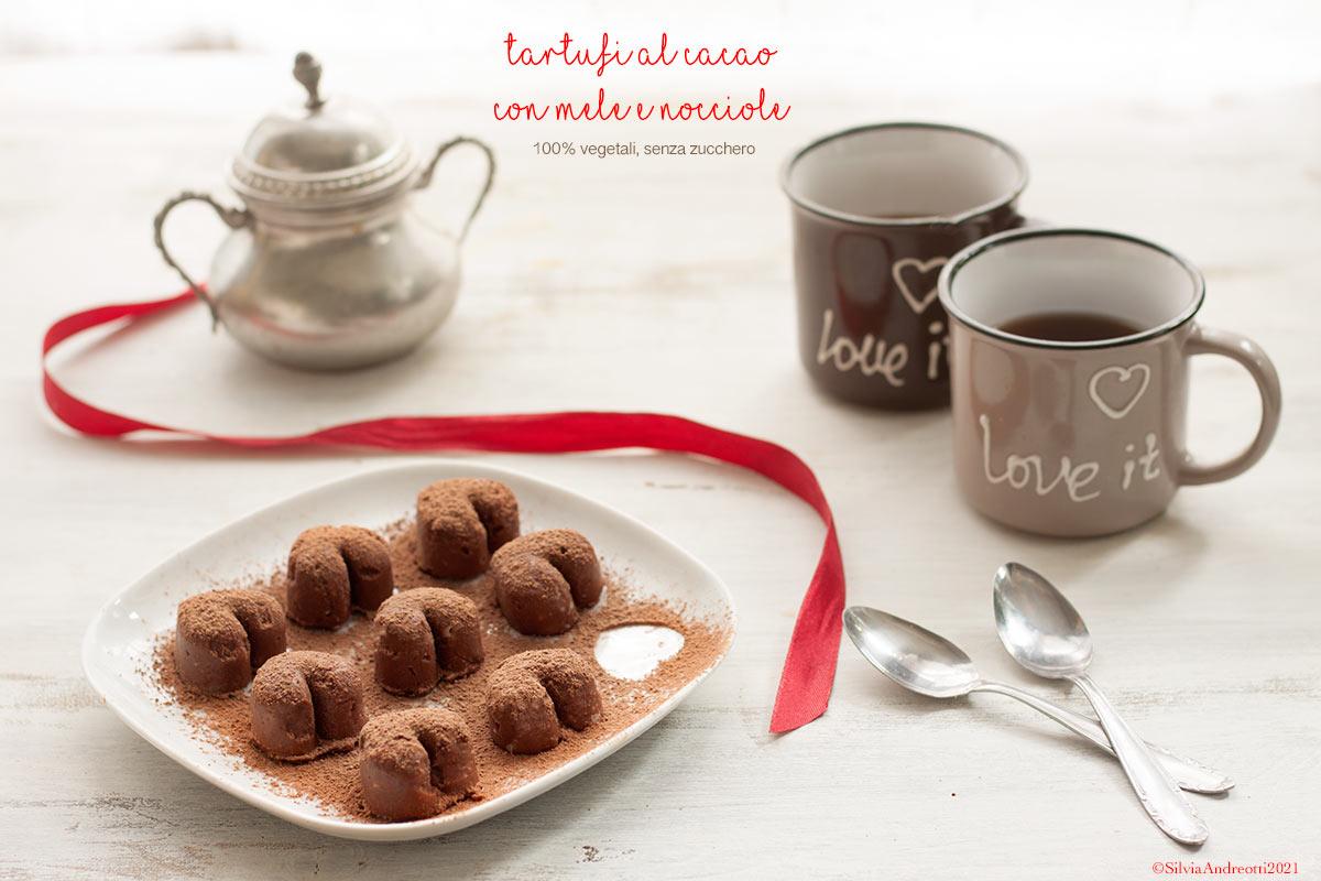 tartufi al cacao vegan