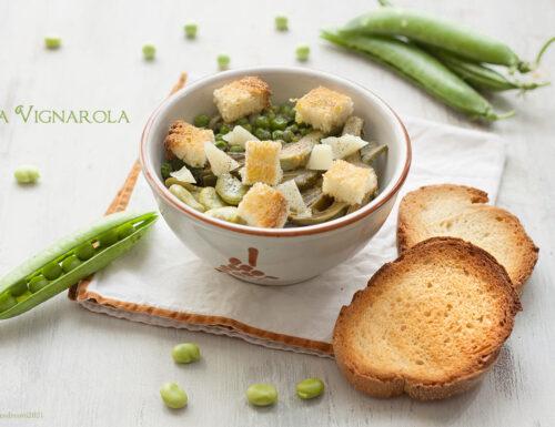 Vignarola, antica ricetta laziale (rivisitata)