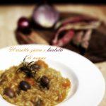 Il risotto zucca e borlotti di nonna