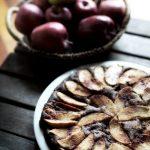 Torta di mele della Valtellina e grano saraceno (senza glutine) e...un anno di blog